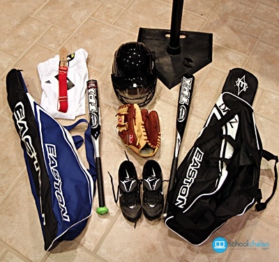 Equipment Of Baseball