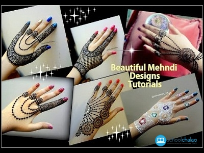 Mehndi Designs Please : How to apply easy simple jewellery mehndi designs
